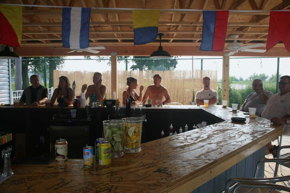 Tiki Bar at the pool